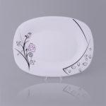 Opal Square Dish-Code : 1040 ; Design : 634
