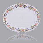 Opal Oval Dish- Code : 1010 ; Design: 130 - $4